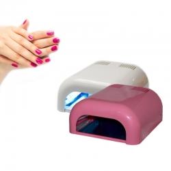 Lampa UV do paznokci biała lub różowa