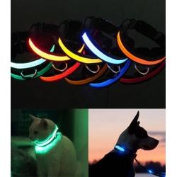Świecąca obroża LED